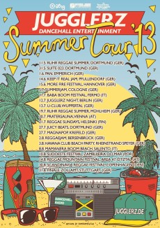 Jugglerz Summer Tour 2013