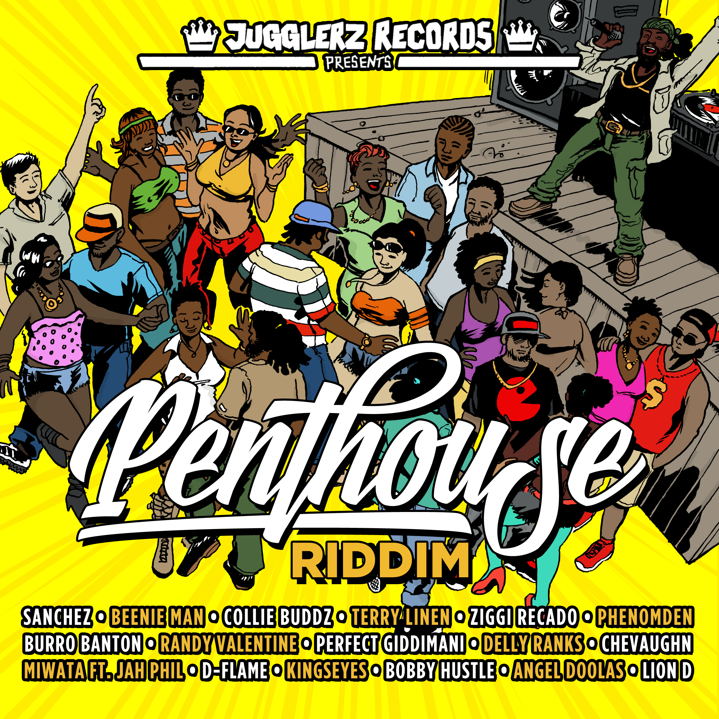 PENTHOUSE RIDDIM COVER