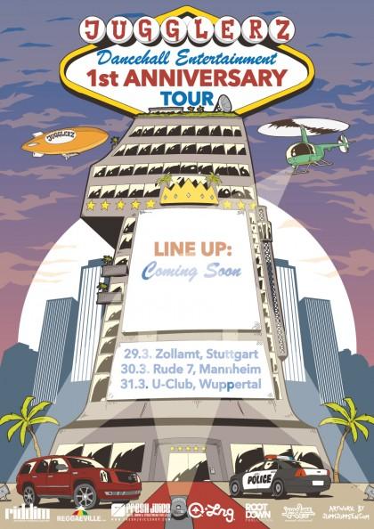 Jugglerz 1 Anniversary Tour 2013