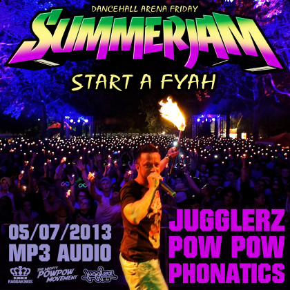 Cover Summerjam Dancehall Arena Friday 2013