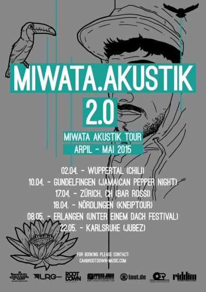 MIWATA.AKUSTIK 2.0 Flyer