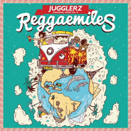 Jugglerz Radioshow - Jugglerz Dancehall Mixes Vol  VI REGGAEMILES