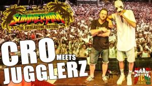 Jugglerz & Cro live auf dem Summerjam