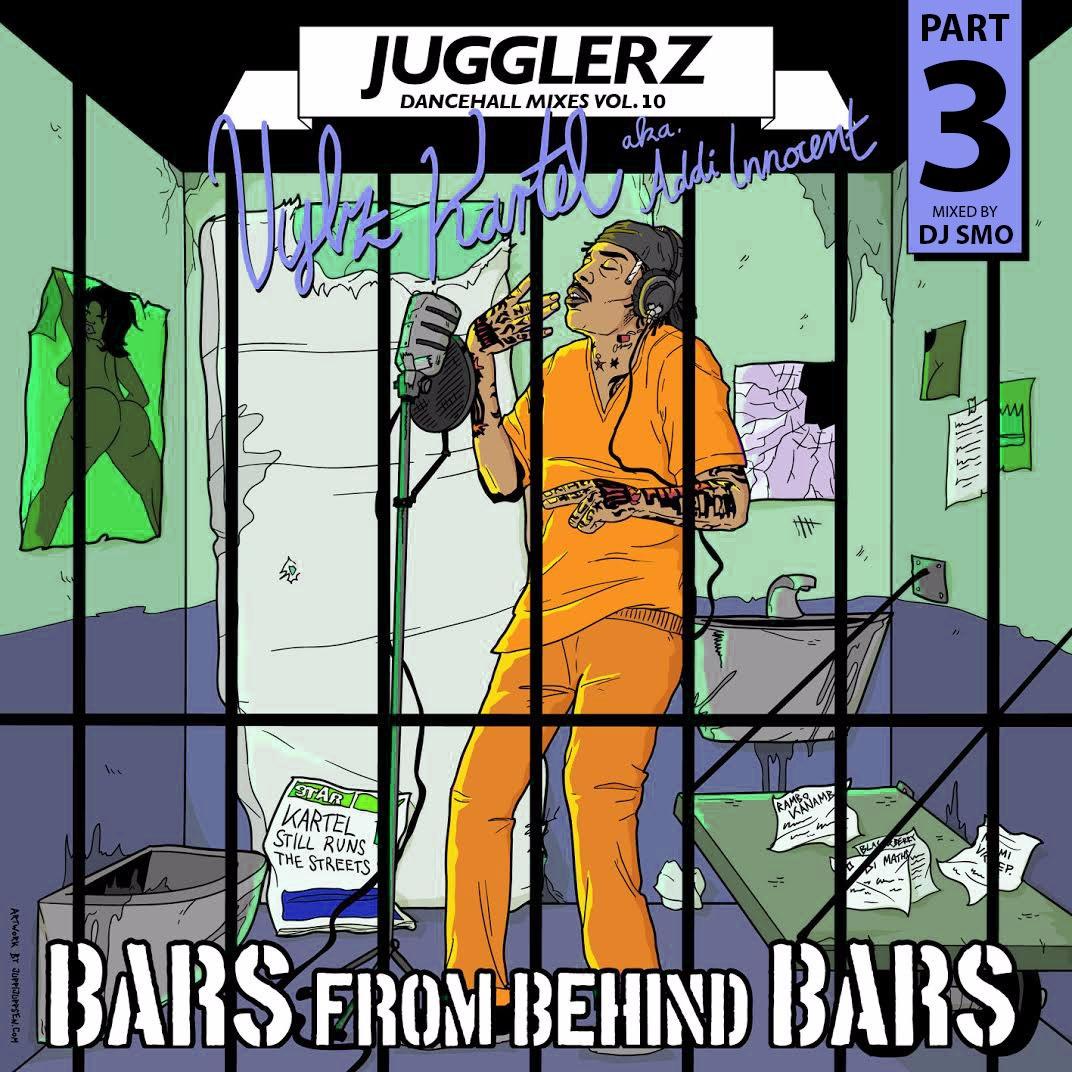 Jugglerz Radioshow - Vybz Kartel Bars From Behind Bars Vol 3
